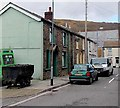 ST0099 : Old coal dram in Alice Place, Cwmaman by Jaggery