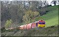 SO6603 : Freight train near Purton by Stuart Wilding