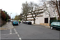 TQ2785 : Isokon Building, Lawn Road, Belsize Park by Kate Jewell