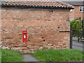 SK6943 : East Bridgford postbox ref NG13 34 by Alan Murray-Rust