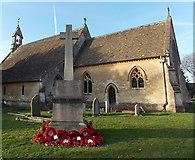 ST8893 : Tetbury War Memorial by Jaggery