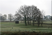 TQ2253 : Golfers' shelter by Hugh Craddock