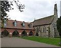 SK7440 : Thomas Cranmer Centre and St Thomas' Church, Aslockton by Alan Murray-Rust