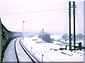 SK4453 : Eastern route at Pye Bridge Junction, 1969 by Robin Webster
