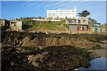 SX6443 : Burgh Island Hotel by jeff collins