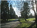 SP1371 : Drive to Umberslade Business Centre and Umberslade Hall by Robin Stott