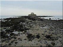 SH3368 : Church-in-the-Sea (5) by Chris Heaton