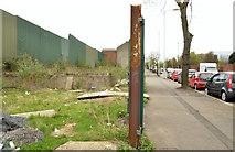 J3375 : Vacant site, Duncairn Gardens, Belfast by Albert Bridge
