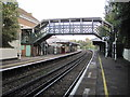 TQ2763 : Carshalton Beeches railway station, Surrey by Nigel Thompson