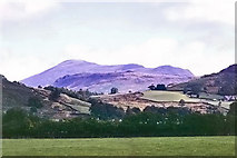 NY1700 : View north-east from Dalegarth Station, 1968 by Robin Webster