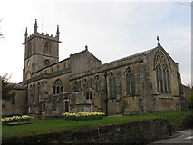 ST8026 : The Church of St Mary the Virgin at Gillingham by Peter Wood