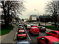 H4572 : Morning traffic along Mountjoy Road, Omagh by Kenneth  Allen