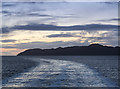 NM4662 : View from Calmac ferry Clansman by William Starkey