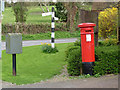 SK7740 : Orston postbox ref NG13 326 by Alan Murray-Rust