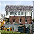 SK7939 : Bottesford West Junction Signal Box by Alan Murray-Rust