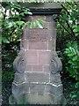 SJ3380 : Memorial to Annie Gardner by Judith