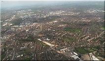 SK3436 : Derby west: aerial 2014 by Chris