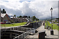 NH3709 : Locks on the Caledonian Canal, Fort Augustus by Stuart Wilding