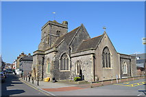 TQ4210 : St Thomas à Becket church, Cliffe, Lewes by Julian P Guffogg