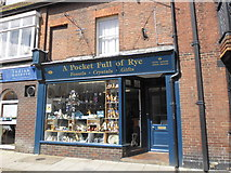 TQ9220 : A Pocket full of Rye, High Street by Basher Eyre