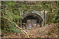 ST1281 : Barry Railway Tunnel South Entrance by Guy Butler-Madden