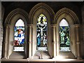 NY8777 : St. Giles Church, Birtley - east window by Mike Quinn