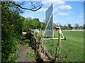 TQ4166 : Path alongside Bromley Common Cricket Club by Marathon