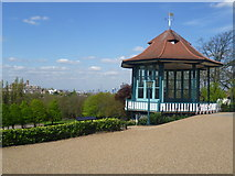 TQ3473 : View from the bandstand in Horniman Gardens by Marathon