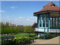 TQ3473 : Viewpoint at Horniman Gardens by Marathon