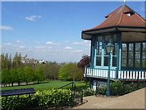 TQ3473 : Viewpoint at Horniman Gardens by Marathon