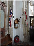 TQ9220 : St Mary, Rye:  war memorial by Basher Eyre