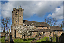 SD7336 : The parish church of St Mary and All Saints, Whalley by Ian Greig