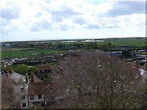 TQ9220 : St Mary, Rye: view from the rooftops (viii) by Basher Eyre