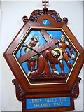 TQ9220 : St Anthony of Padua in Rye: Stations of the Cross (7) by Basher Eyre