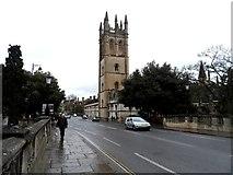 SP5206 : Magdalen Tower by Bikeboy