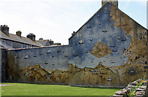 SW5130 : Mural on the side of 1 Harbour View, St Michaels Mount by Jo Turner
