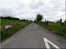 J0323 : Tamnaghbane Road from its junction with Chapel Road by Eric Jones