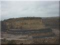 SD5378 : The 'island', Holme Park Quarry by Karl and Ali