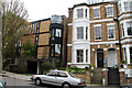 TQ2785 : Two periods of architecture on South Hill Park, NW3 by Kate Jewell