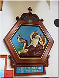 TQ9220 : St Anthony of Padua in Rye: Stations of the Cross (11) by Basher Eyre