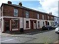 NY3955 : Northumberland Street, Carlisle, south side by Christine Johnstone