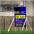 J5081 : 'For Sale' sign, Bangor by Rossographer
