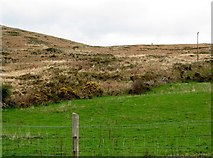 J0324 : Boundary between intake land and open mountain above Keggall Road, Camlough by Eric Jones