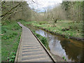 SE9886 : River Derwent, Forge Valley by Pauline E