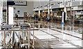 TR0142 : Ashford International Station, south side booking-hall, 1997 by Ben Brooksbank