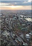 TQ3280 : View from The Shard, London SE1 by Christine Matthews