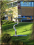 SU9850 : Sculpture on Stag Hill Campus by Adrian Cable