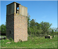 TG0818 : Royal Observer Corps post by Great Witchingham by Evelyn Simak