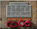 NJ1469 : Hopeman War Memorial by Anne Burgess