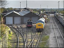 SD8010 : East Lancashire Railway Loco Sheds, Buckley Wells by David Dixon